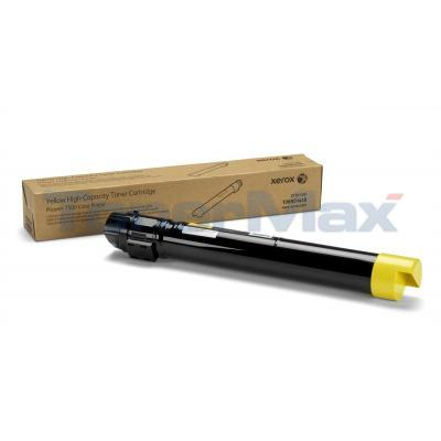XEROX PHASER 7500 TONER CART YELLOW 17.8K